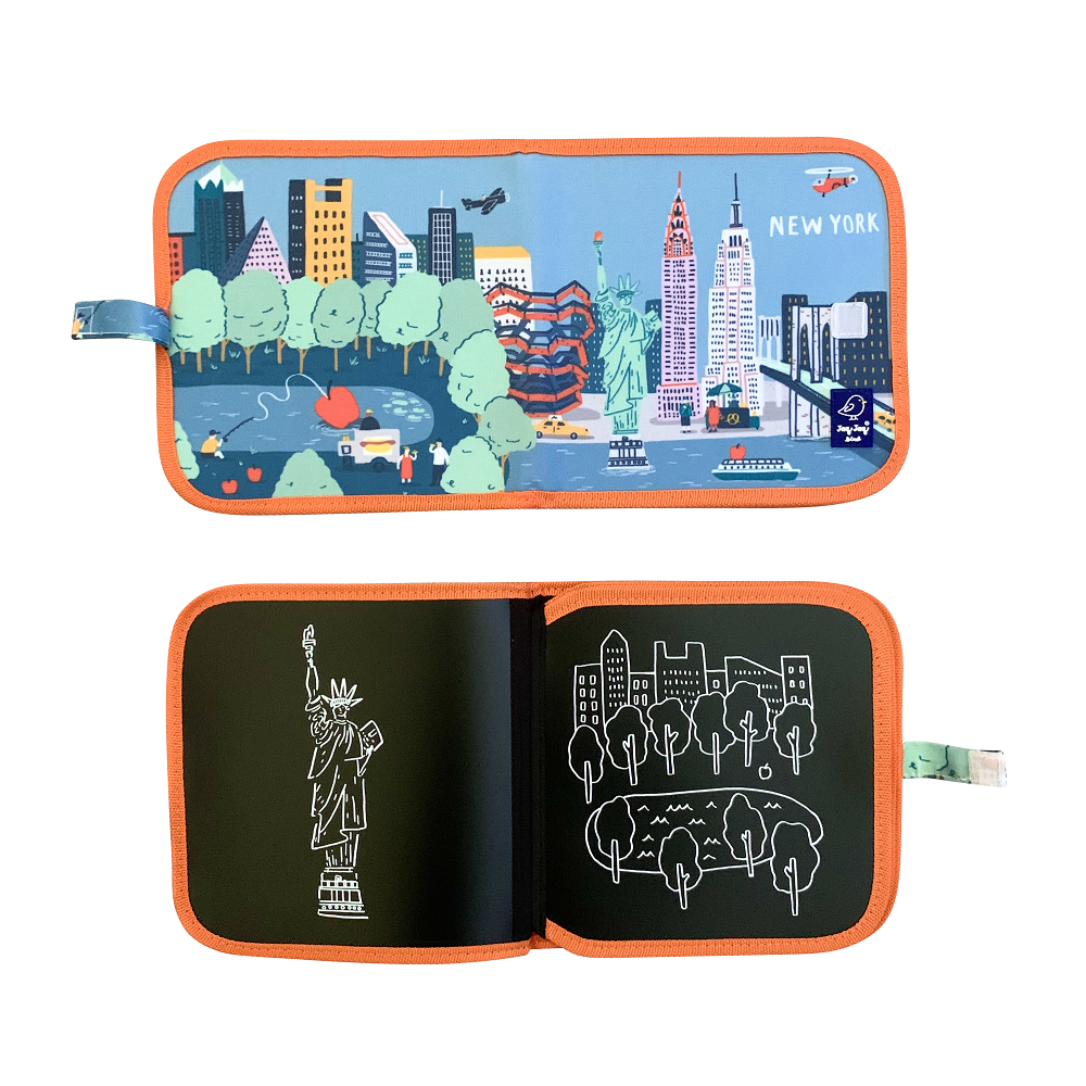 JJB000213 - CAHIER ARDOISE (cities of wonder) NEW YORK