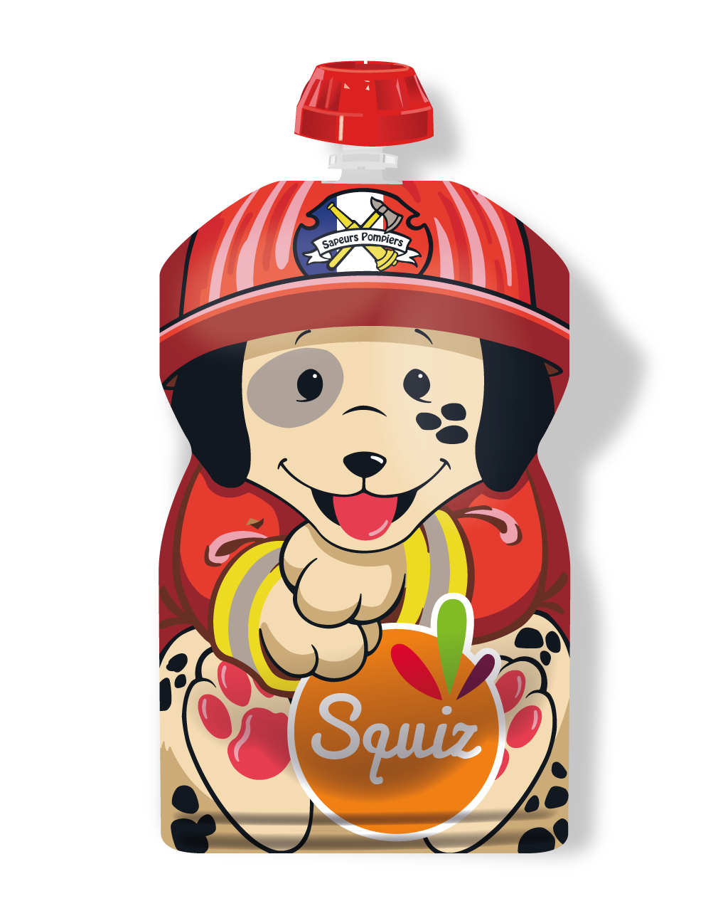 "1 - SQUIZ00019 - 1 SQUIZ CHIEN ""smile"" 130 ml"