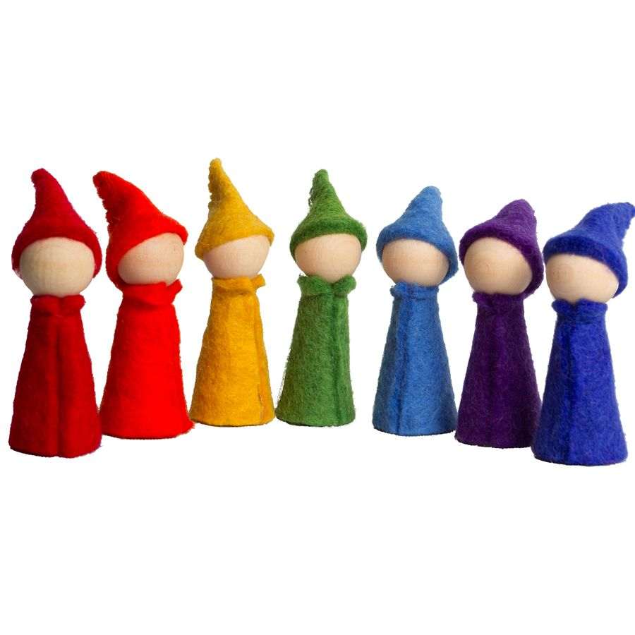 PP307 - Gnomes Rainbow - set de 7