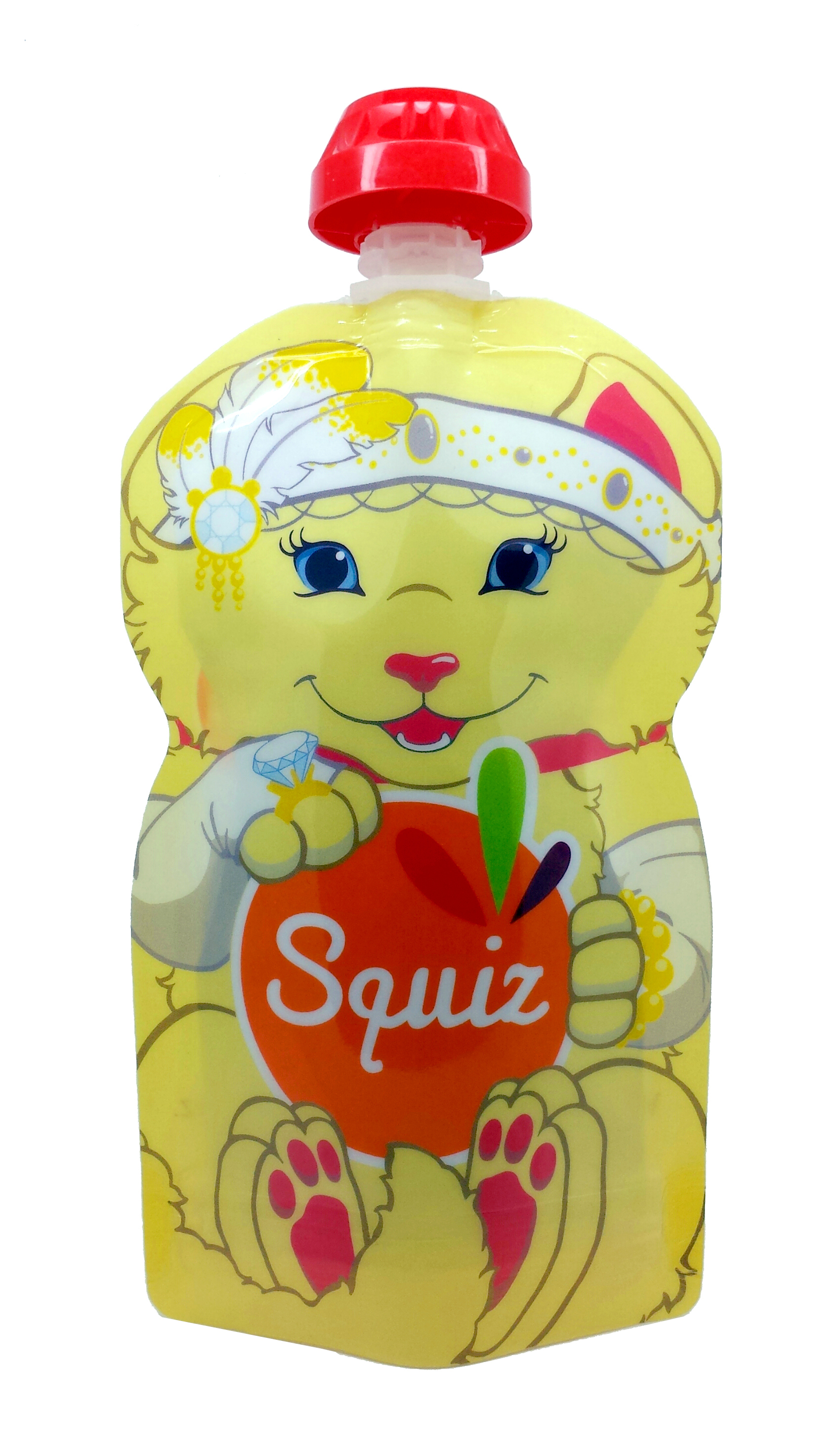 "1 - SQUIZ00013 - 1 SQUIZ CHATON ""carnaval"" 130 ml"
