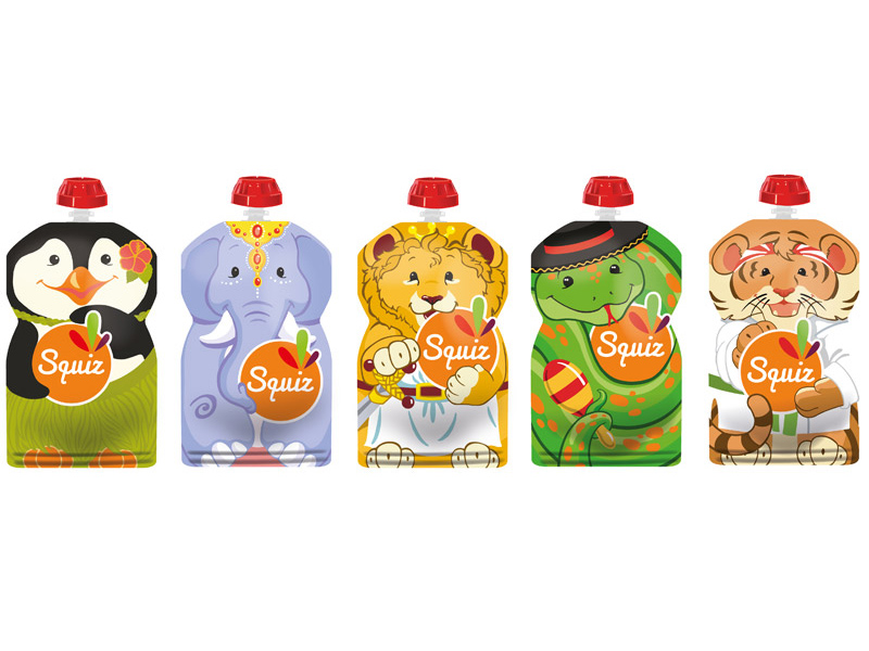 "E-SQUIZ00007 - PACK 5 SQUIZ ""carnaval"" 130 ml"
