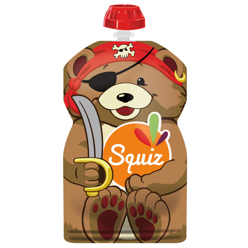 "1 - SQUIZ00008 - 1 SQUIZ OURS ""carnaval"" 130 ml"