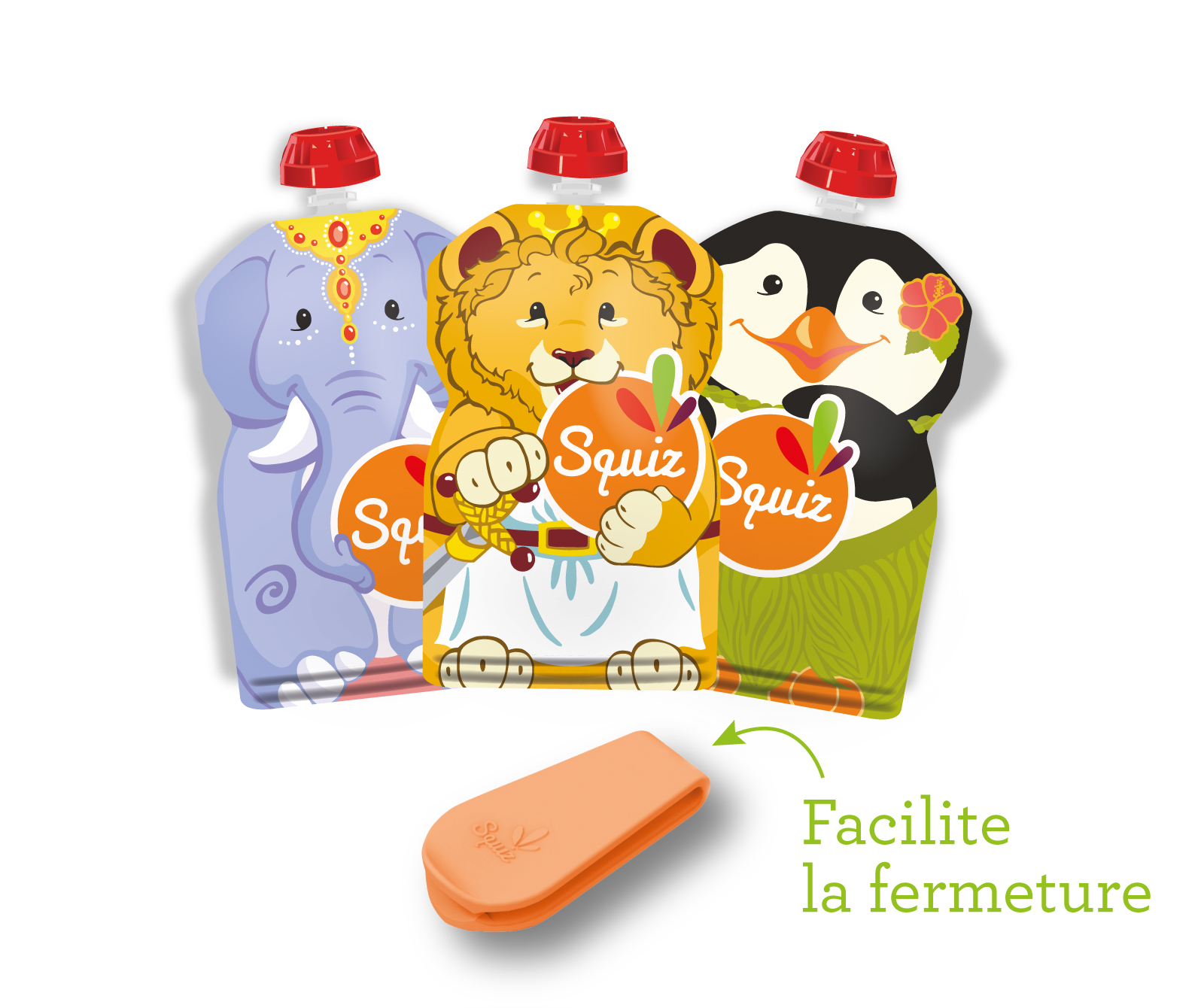 "LOT DE 3 - SQUIZ00001 - PACK 3 SQUIZ ""carnaval"" 130 ml"